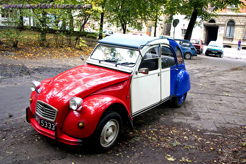 the 2 cv  a french legend