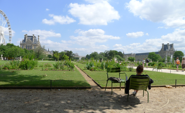 Les Tuileries, the Parisians' favorite playground