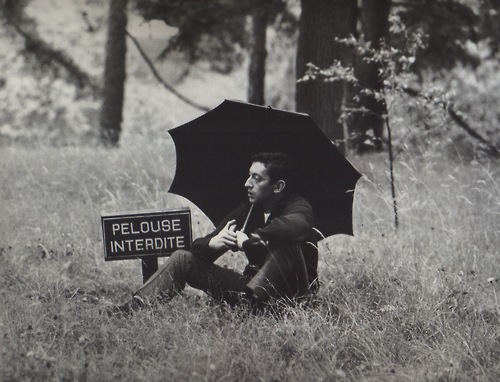 Serge Gainsbourg, a true rebel.