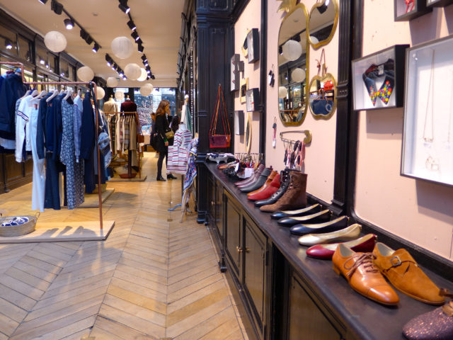Paris boutique shopping