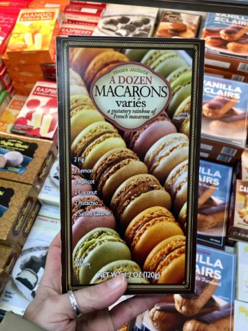Trader Joe's French desserts